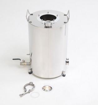 """Бак """"Термосфера"""" 30 литров (ф300/h435) индукционный, сусловарочный + разъем для тэна + заглушка разъема + регулируемые опоры"""