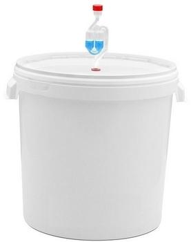Ёмкость для брожения с гидрозатвором на 30 литров