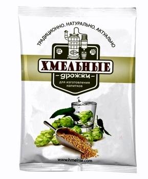 """Дрожжи спиртовые """"Хмельные"""" (100гр)"""